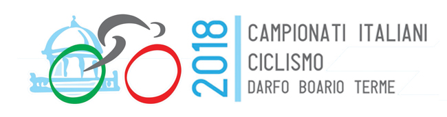 Logo Campionati Italiani Ciclismo 2018 professionisti paraciclismo